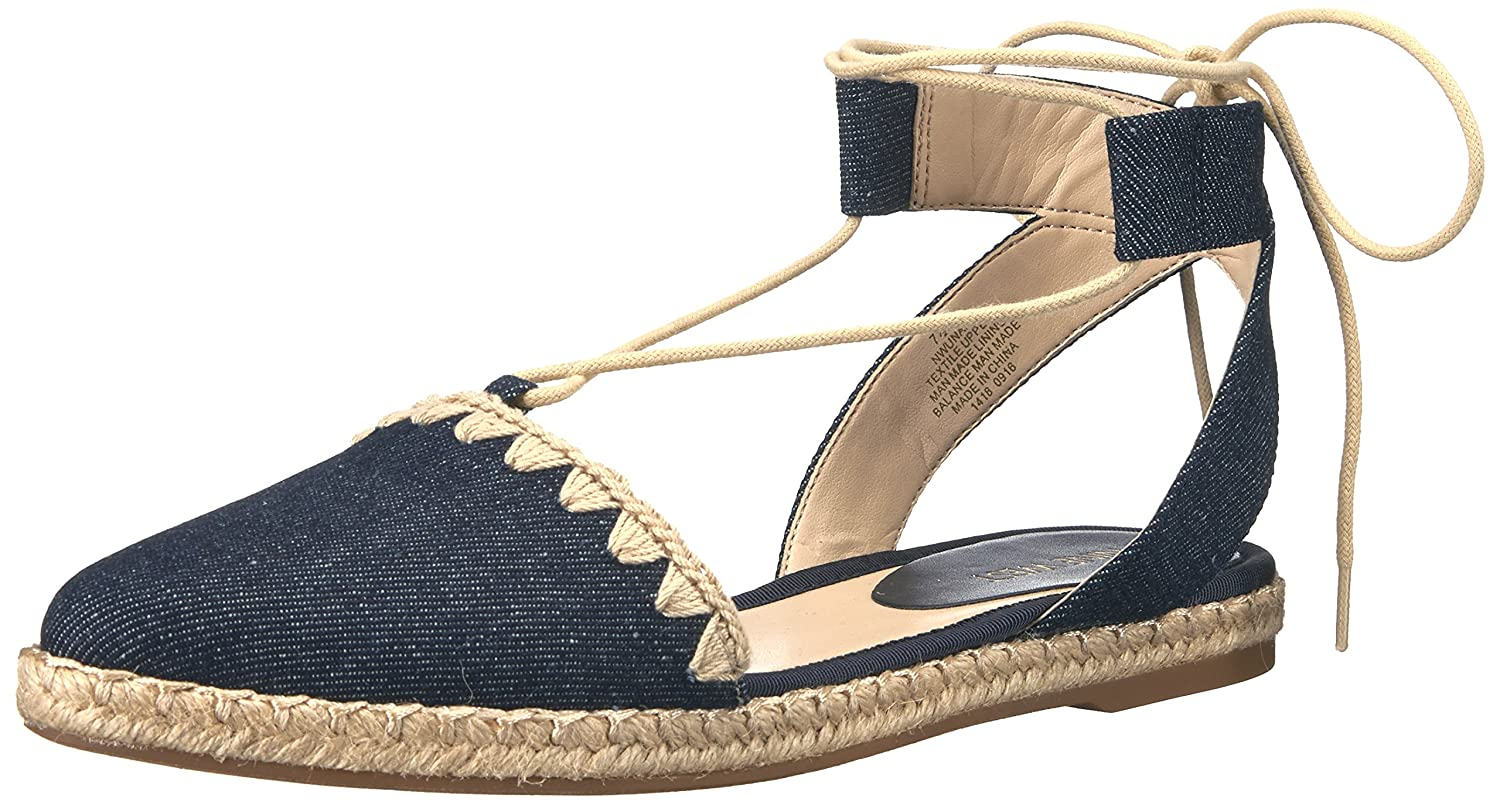 Nine West Frauen Flache Schuhe39 EU|Denim