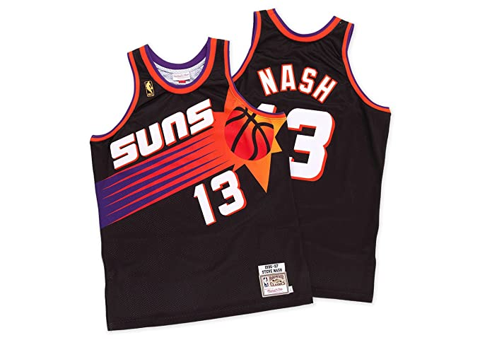 6b6993a6511 Image Unavailable. Image not available for. Color: Mitchell and Ness  AUTHENTIC Steve Nash 1996-97 NBA Jersey Phoenix Suns ...