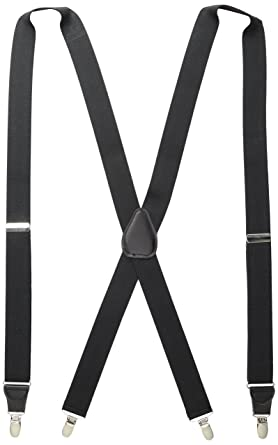 a73874af273 Stacy Adams Men s Big and Tall Extra Long Clip On Suspenders