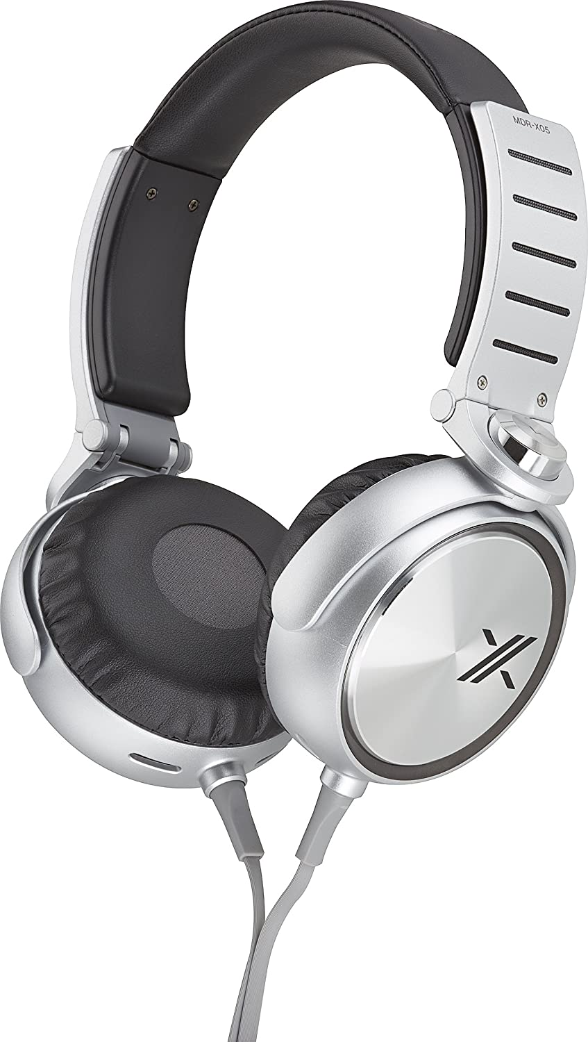 Sony MDRX05 BS Simon Cowell X Headphone Black Silver