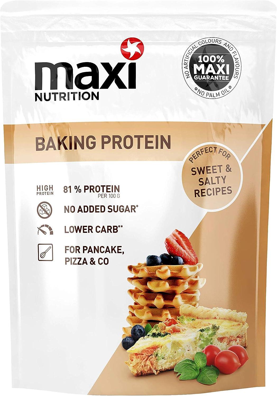 MaxiNutrition Backprotein - Proteína de horneado neutra en ...