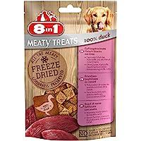 8In1 Meaty Treats Hondensnack 100% Eend, 50g