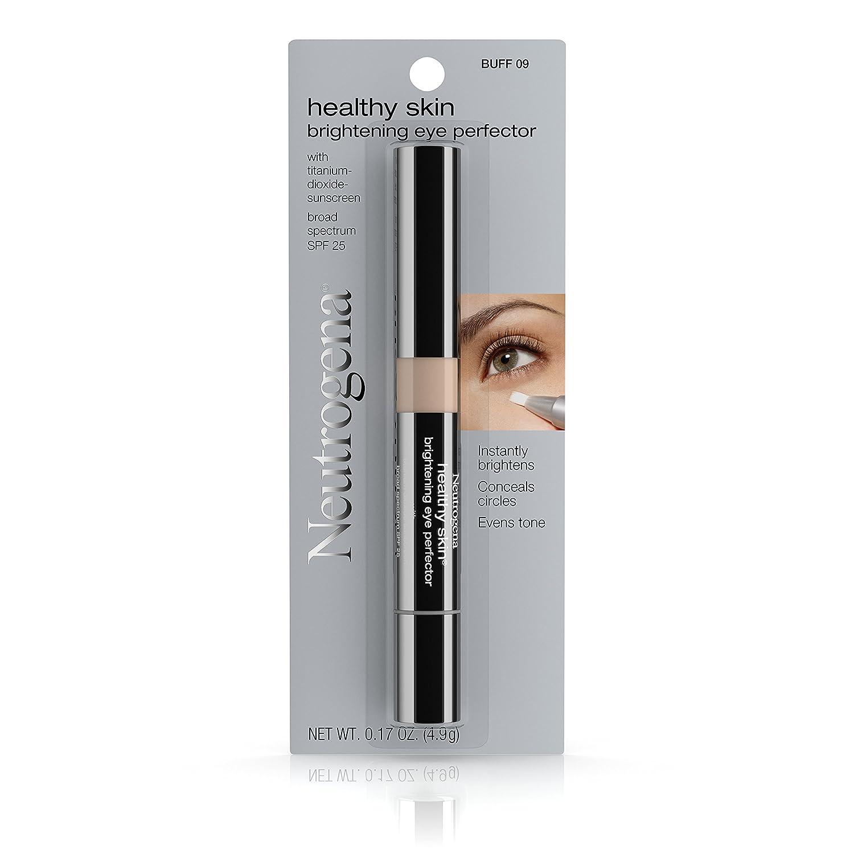 35b8e5dab28 Amazon.com : Neutrogena Healthy Skin Brightening Eye Perfector Broad  Spectrum Spf 25, Under Eye Concealer, Buff 09, .17 Oz. : Beauty
