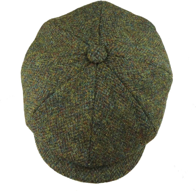 Earland Brothers Failsworth Failsworth Hats Carloway 8-Piece Bakerboy Harris Tweed Green 2016