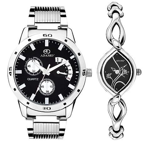Designer Analog Black Dial Unisex Watch - 107-327SM02