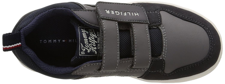 Tommy Hilfiger Cooper 25C, Sneakers Basses garçon, Gris (039 Steel Grey), 31 EU: : Chaussures et Sacs