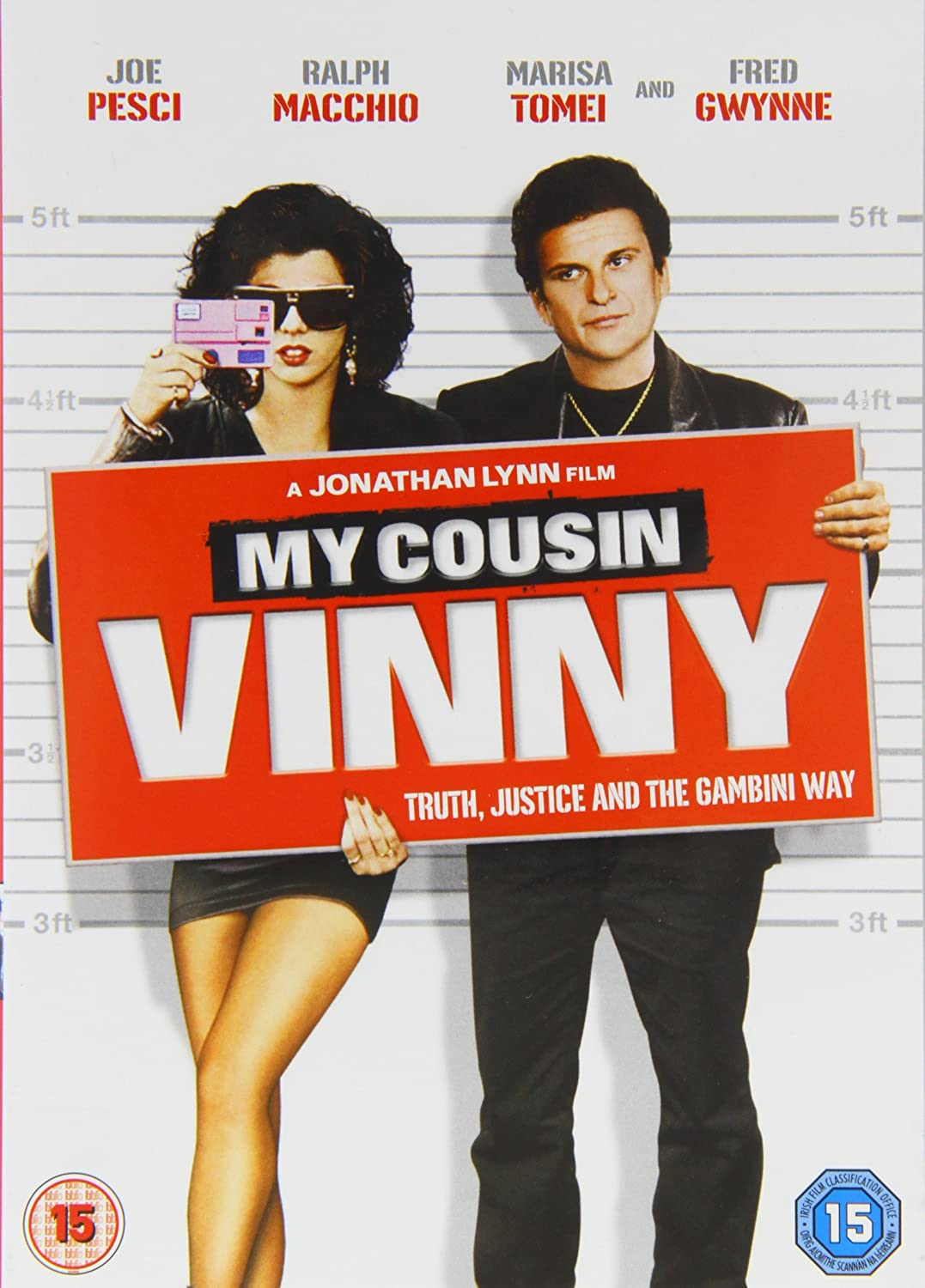 Amazon Com My Cousin Vinny Joe Pesci Marisa Tomei Ralph Macchio Mitchell Whitfield Fred Gwynne Lane Smith Austin Pendleton Bruce Mcgill Maury Chaykin Paulene Myers Raynor Scheine James Rebhorn Peter Deming Jonathan Lynn Anyway, her cousin rick knew someone 6) _was working backstage and he let us meet the band. amazon com my cousin vinny joe pesci