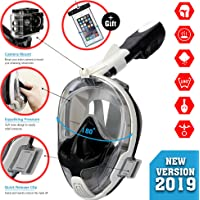 Full face Snorkel Mask with Free Waterproof Phone case