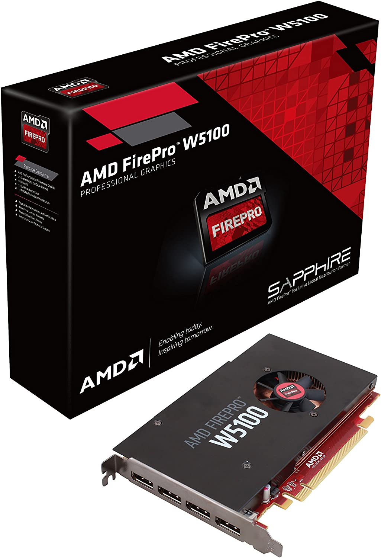 Hp Amd Radeon Pro Wx 4100 4gb Promo Graphics Card Firepro W4100 4gb Gddr5 128bit 5120