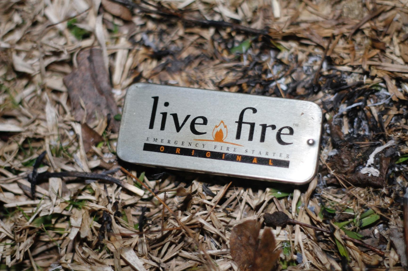 Live Fire Original - Emergency Fire Starter