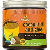 Kelapo Coconut Oil and Ghee 50/50 Blend,13-Ounce Jar