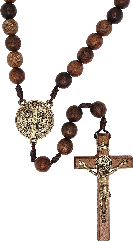Intercession Wall Display Solid Wood Rosary