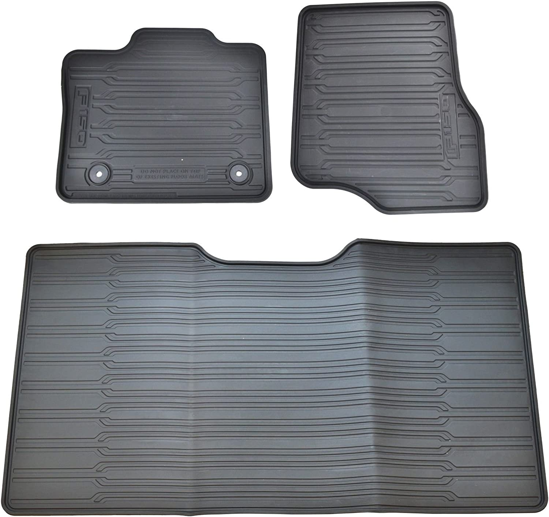 Ford F150 supercab factory carpet rear floor mats