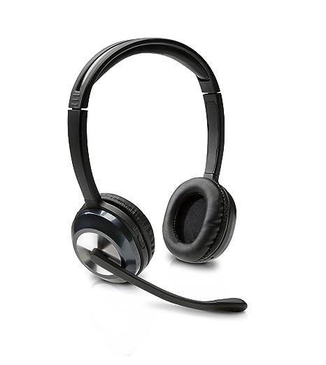 HP H8000 - Auriculares con micrófono (inalámbricos, hasta 10 m, USB),