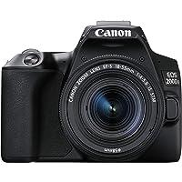 Canon EOS 200D II 24.1MP Digital SLR Camera + EF-S 18-55mm f4 is STM Lens (Black)