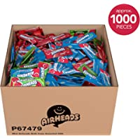 Deals on AirHeads Mini Bars Case Fruit Candy Party Halloween 25 Pound