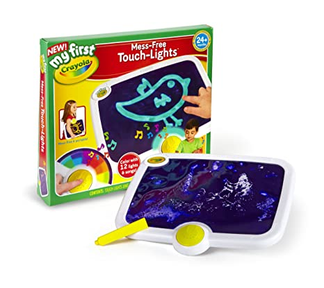 amazon com crayola my first mess free touch lights ages 2 to 4