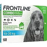 FRONTLINE Combo Chien - Anti-puces anti-tiques chien - 10-20kg - 6 pipettes