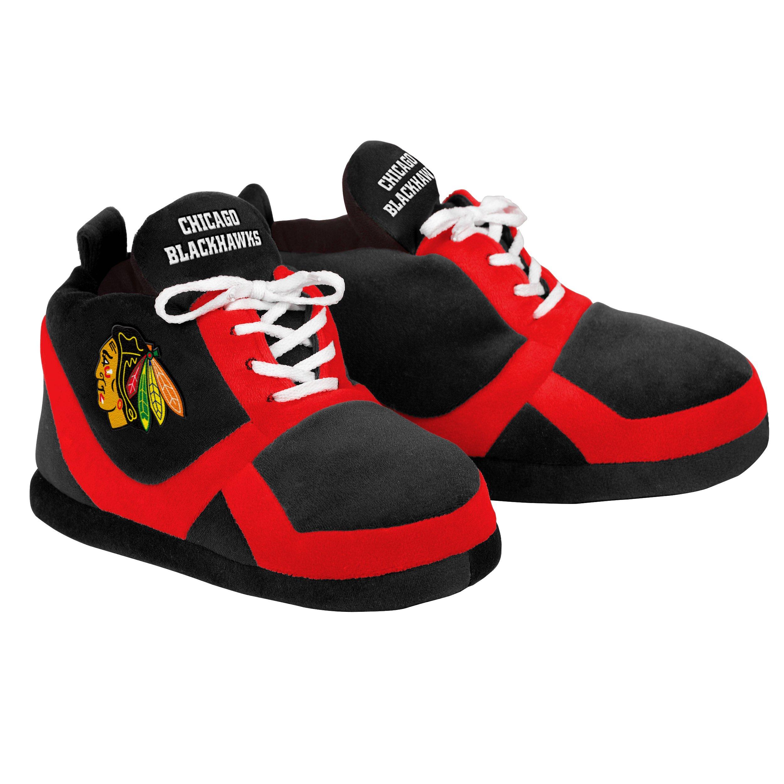 Chicago Blackhawks 2015 Sneaker Slipper Large