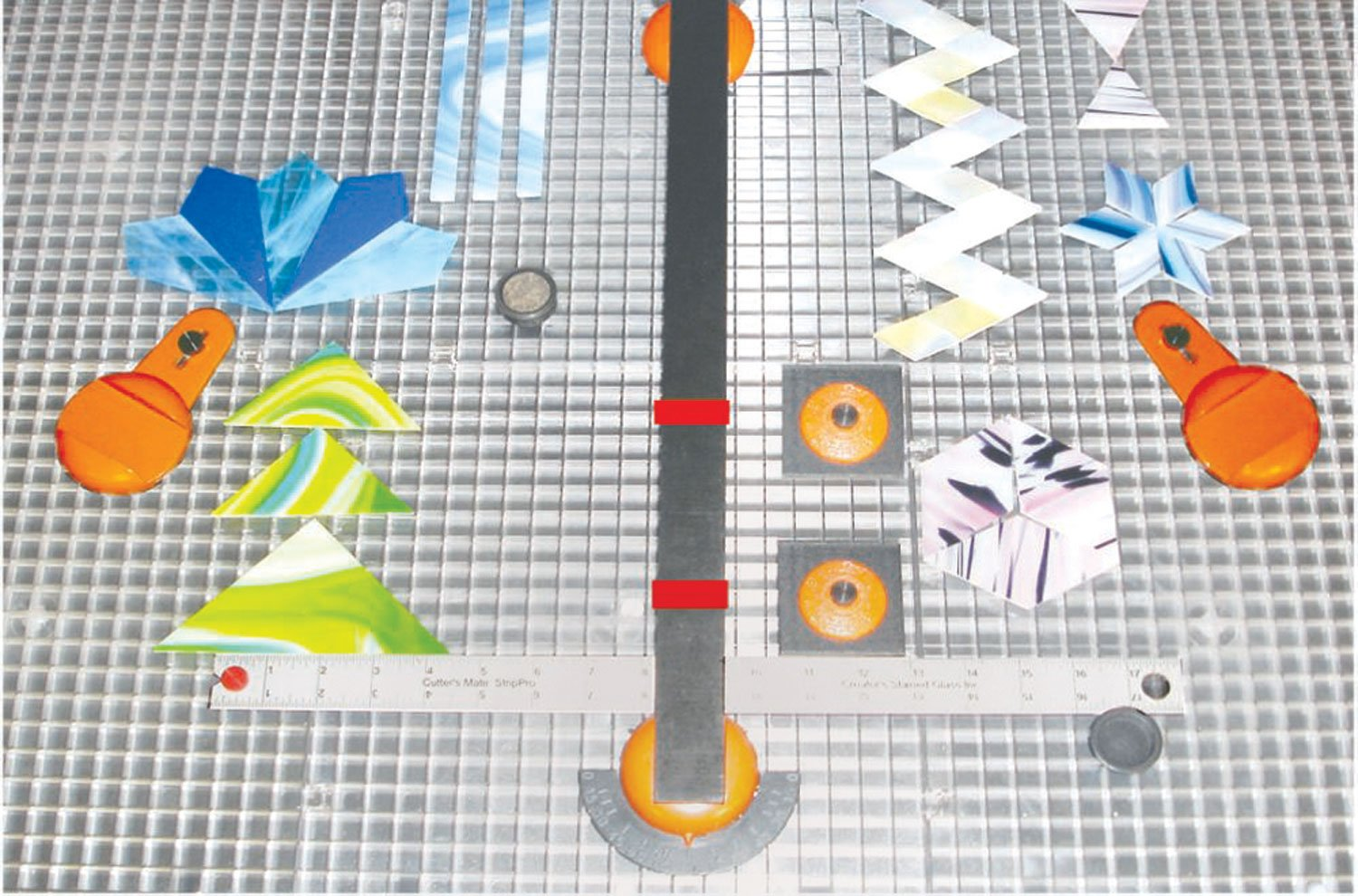 Creator's Ultra Beetle Bits Glass Cutting System - COMPLETE WITH 6-Pack Waffle Grids and Push Button Flying Beetle Glass Cutter INCLUDED - Made In The USA by Creator's (Image #7)