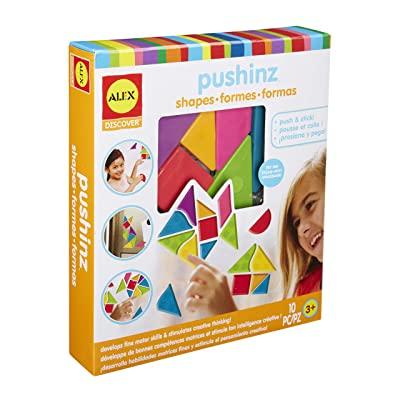 Alex Discover Pushinz Shapes Kids Art and Craft Activity: Toys & Games