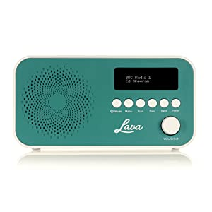 dac13260367 Lava DAB Radio with DAB   DAB+ Digital Radio and FM with Auto-Scan