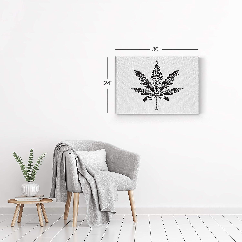 Amazon.com: Humo Arte de la pared Impresión de lona ...