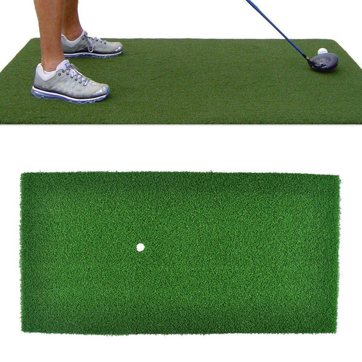 Faway 60x30cmの緑のゴルフ練習のマット、屋内運転の裏庭の打撃の草の運転のホールダー   B07FCK6GF9