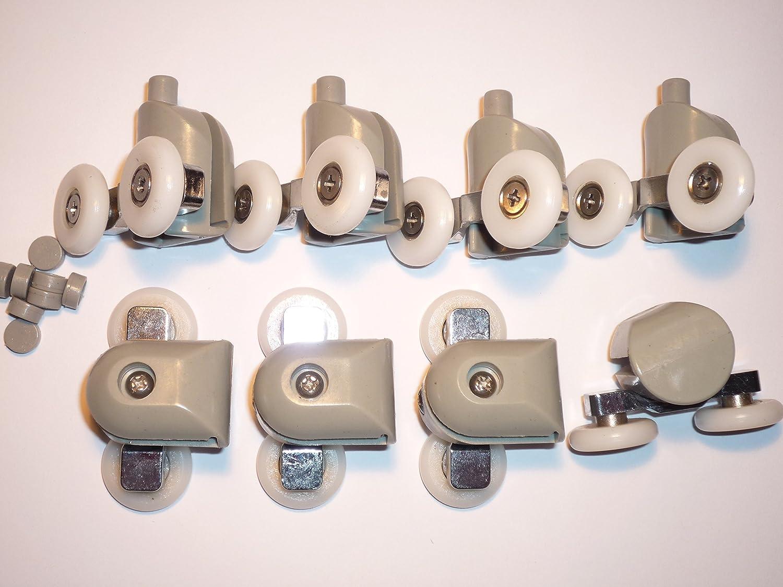 Hermoso ruedas para mamparas de ba o fotos rodamientos - Rodamientos mampara bano ...