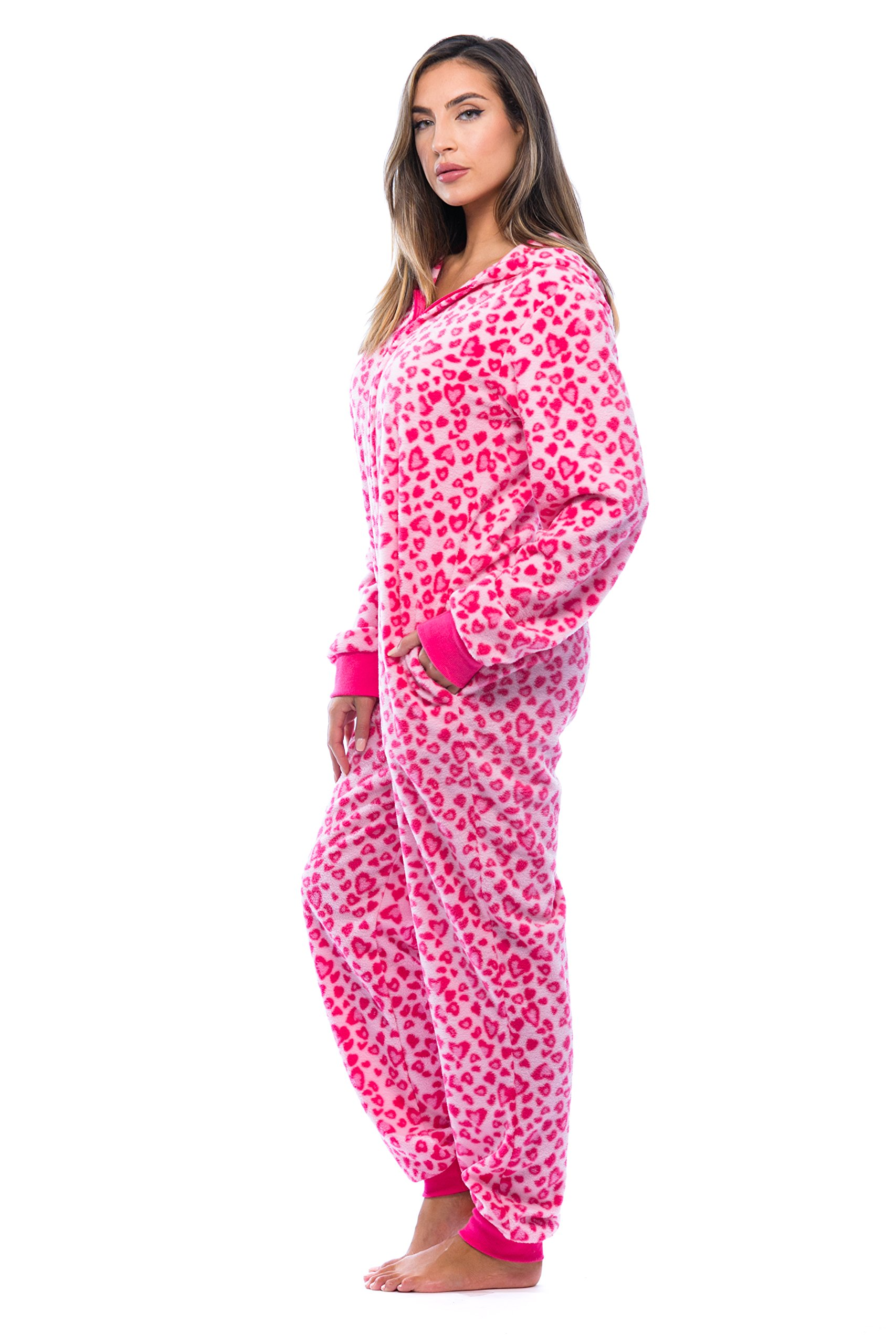 Just Love 6453-10215-M Adult Onesie With Animal Prints/Pajamas by Just Love (Image #2)