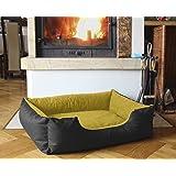 BedDog colchón para perro LUPI S hasta XXL, 24 colores, cama para perro, sofá para perro, cesta…