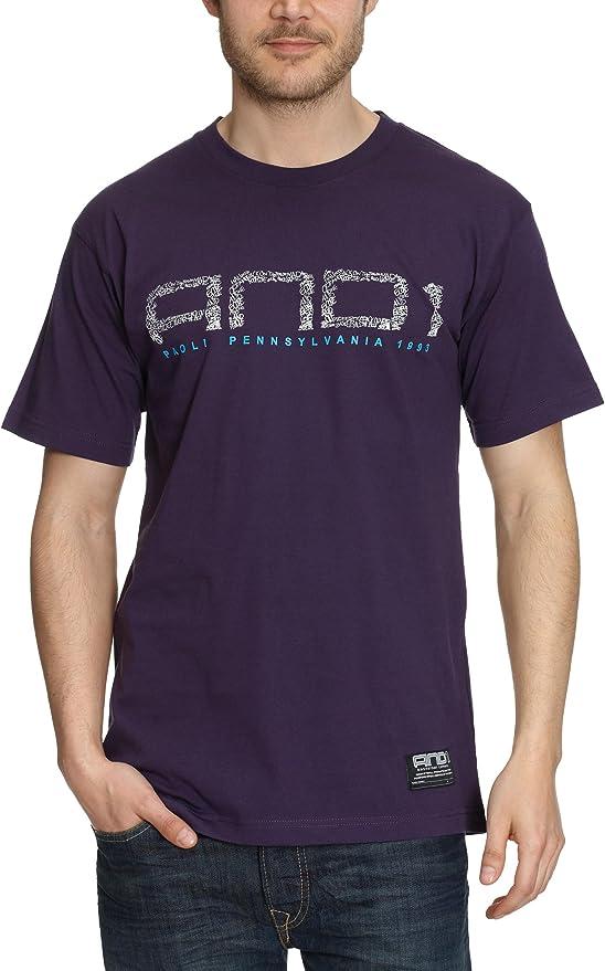 AND1 Dare T - Camiseta para Hombre, tamaño XL, Color Violeta ...