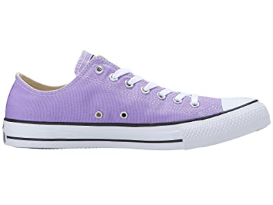 e93ccc49dac3 Converse Unisex Chuck Taylor All Star Ox Low Top Classic FROZEN LILAC  Sneakers - 6.5 B