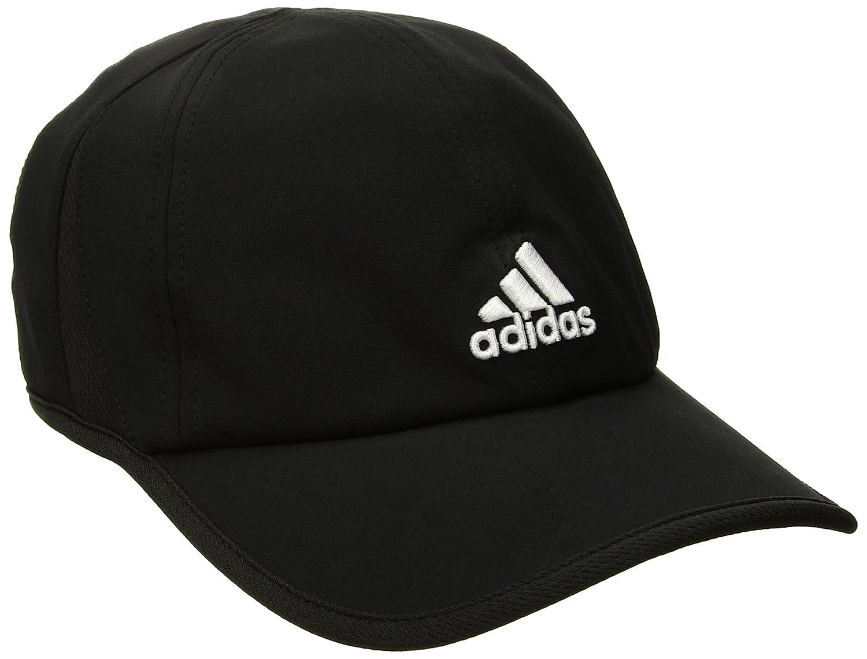 timeless design 09bd3 a2c3e Amazon.com  adidas Men s Adizero II Cap, Black White, One Size  Clothing