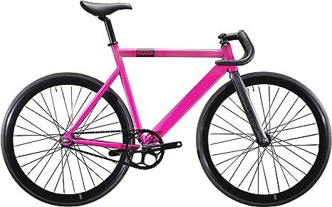 State Bicycle 6061 Black Label - Bicicleta de Carretera, Color Rosa ...