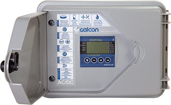 Galcon GAJBSH312P0 61512 DC-1S 1-Station Battery Operated Irrigation and Propagation Controller