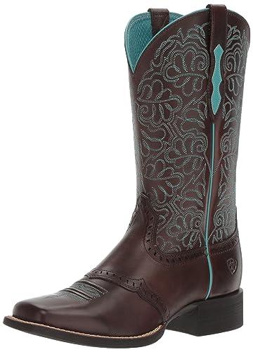 62e38d4bbf6 Ariat Women's Round up Remuda Western Cowboy Boot