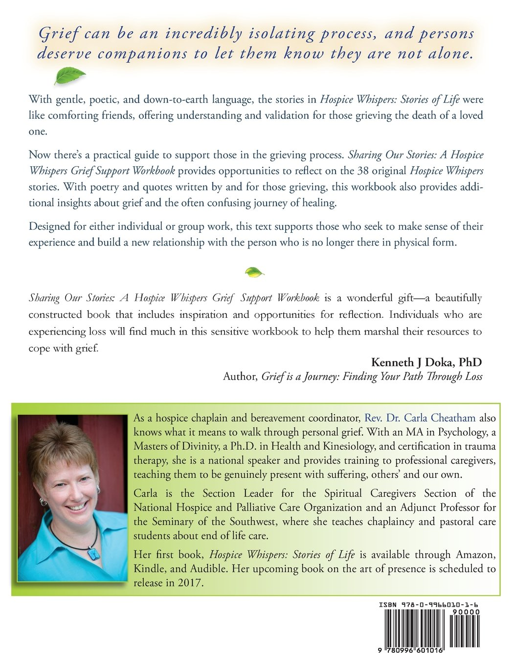 Sharing Our Stories: A Hospice Whispers Grief Support Workbook ...