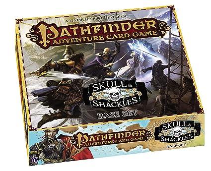 Amazon Com Pathfinder Adventure Card Game Skull Shackles Base