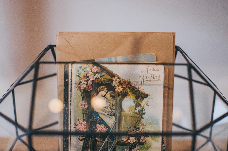 Large Wedding Card Holder Glass Box, Mailbox, Geometric Terrarium