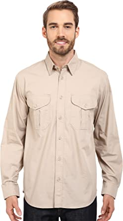 bf7972ecca66a Amazon.com  Filson Men s Filson s Feather Cloth Shirt Desert Tan ...
