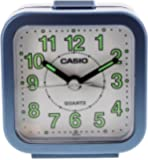 Casio TQ141-2 Beep Alarm Clock, Blue