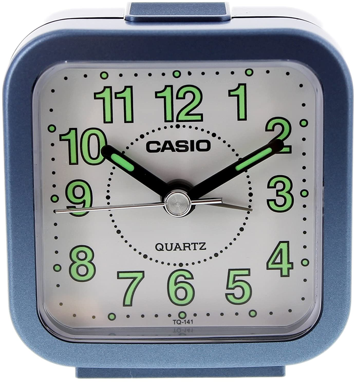 Casio Beep Blue Alarm Clock TQ141-2 TQ141/2