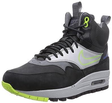 Nike Women's Air Max 1 SneakerBoot Low-Top Sneakers Multicolour Size: 3