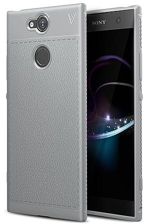 BoseWek Sony Xperia XA2 Funda, Anti-rasca la Carcasa del teléfono TPU del de la imitación Ninguna Case del teléfono móvil Caja del teléfono Alta ...