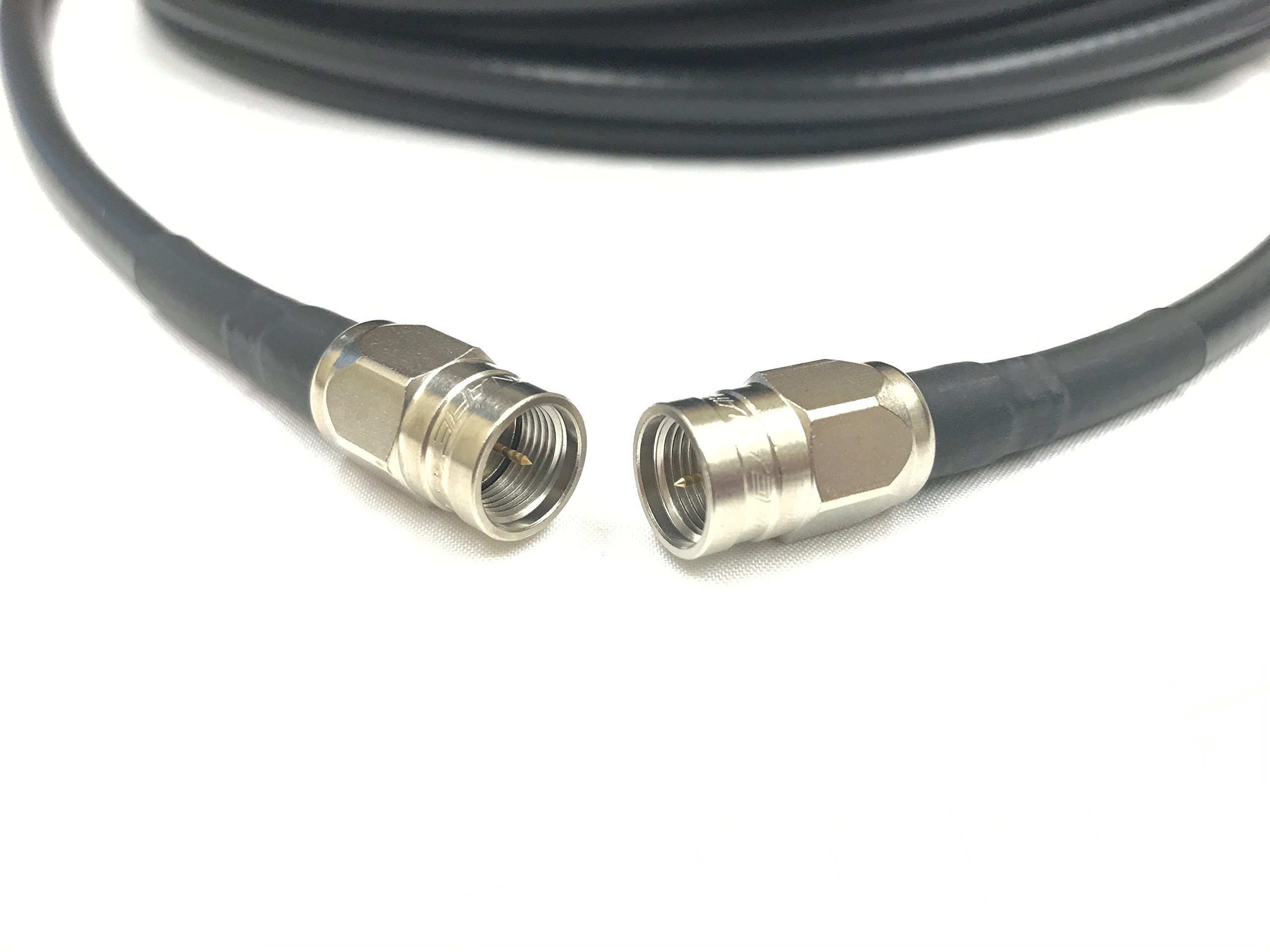 3 Foot Canare F-Type Male to Male Connectors on Belden 1694A RG6 Broadcast 4K Coaxial CL2 75 Ohm Cable by Custom Cable Connection
