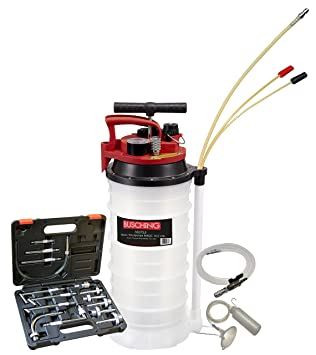 ATF llenado de getriebeölsystem, 10,5 L, Manual, in/out: Amazon.es: Coche y moto