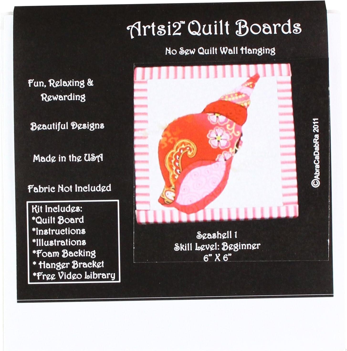 Artsi2 A2SMSHELL1 Seashell Wall Hanging Kit