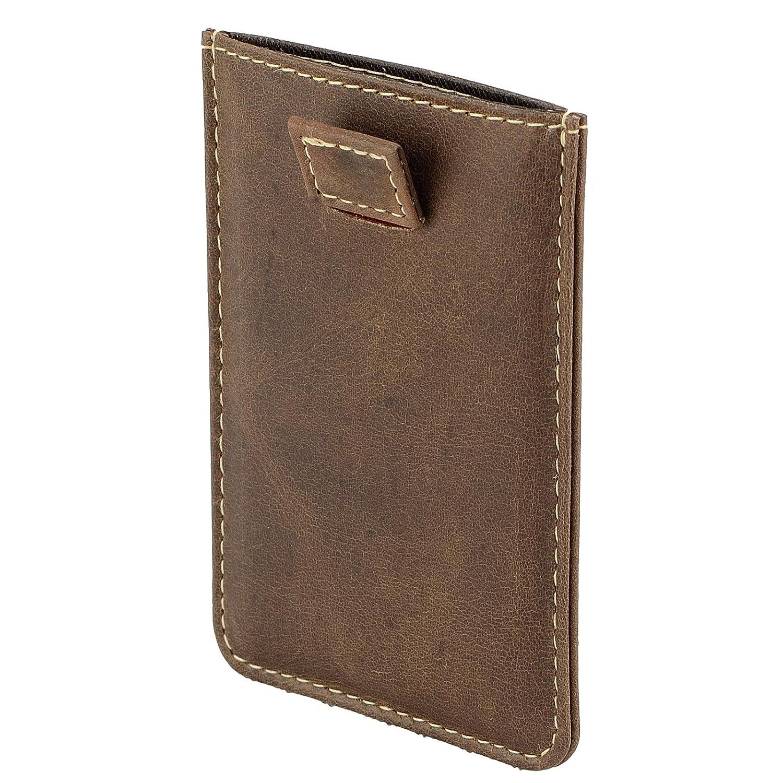 fab248e85b90e FEYNST Leder Herren Geldbörse Portemonnaie Brieftasche Geldbeutel  Kreditkartenetui Herrengeldbörse Ledergeldbörse  Amazon.de  Koffer