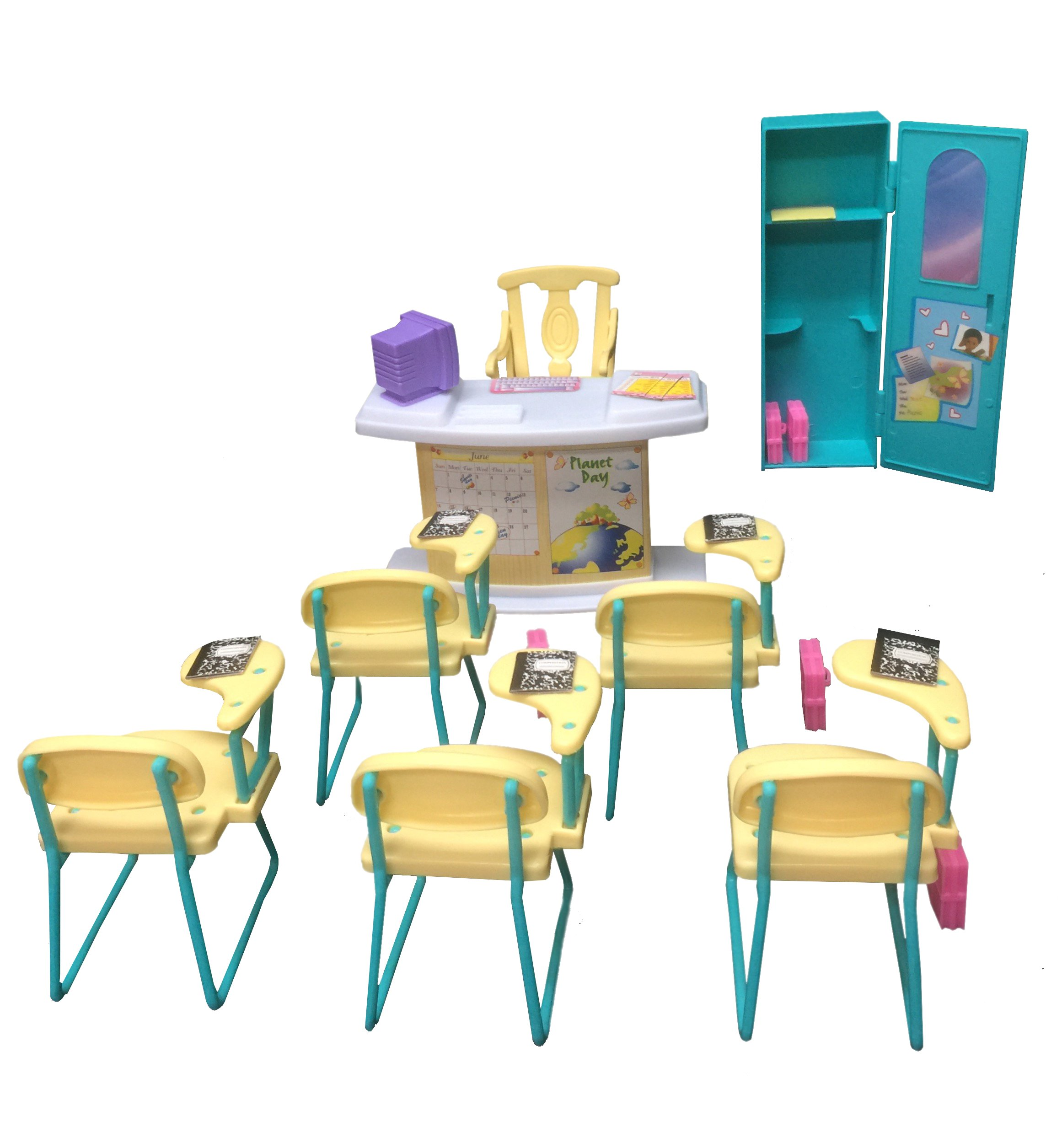 Classroom Play Set gloria Dollhouse Furniture